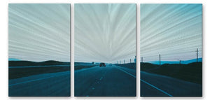 California Road 29 - Metal Wall Art Decor - Relja Penezic