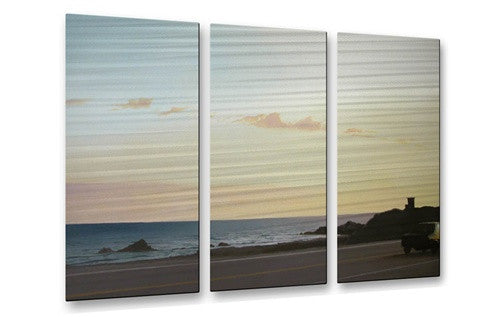 California Road 24 Contemporary Modern Metal Wall Art By Relja Penezic