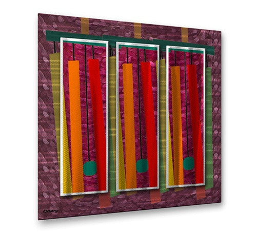 Abstraction 63 - Metal Wall Art Decor - Patrick Murphy