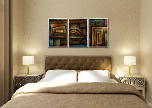 Abstract Mind - Metal Wall Art Room Furnishing - Michael Lang