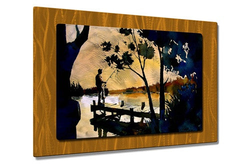 A NEW DAY - Metal Wall Art Decor - Richard Graves