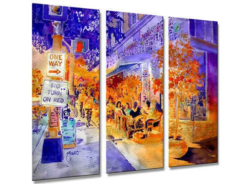 Dinkytown - Metal Wall Art Decor - Richard Graves