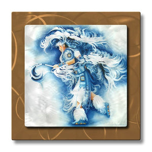 Fancy Dancing - Metal Wall Art Decor - Teri Rosario