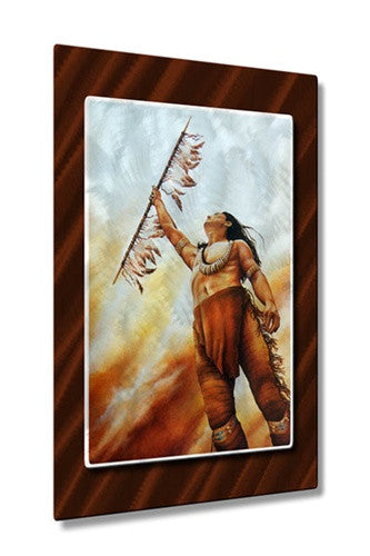 Fire in the Sky - Metal Wall Art Decor - Teri Rosario