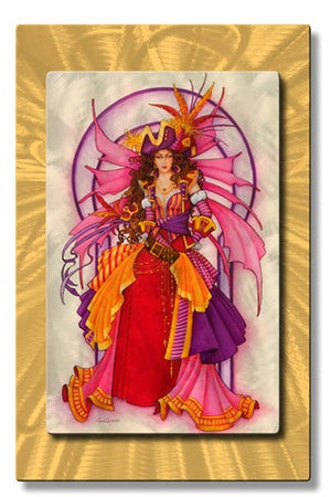 Pirate Fairy - Metal Wall Art Decor - Teri Rosario