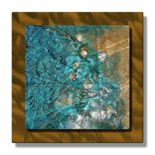 Stolen Sands - Metal Wall Art Decor - Kelli Money Huff
