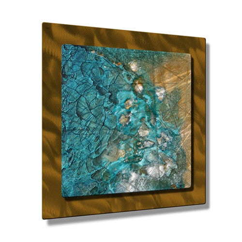 Stolen Sands - Contemporary Metal Wall Hanging - Kelli Money Huff