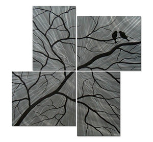 Winter Secrets - Metal Wall Art Decor - Brittney Hallowell