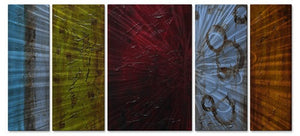 Color Burst - Metal Wall Art Decor - Stacy Hollinger