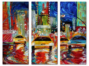 Times Square New York - Metal Wall Art Decor - Karen Tarlton