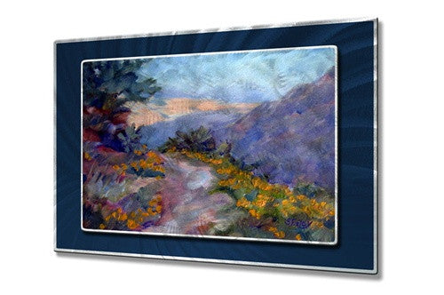 Catalina Overlook - Contemporary Metal Wall Hanging - Sandy Farley