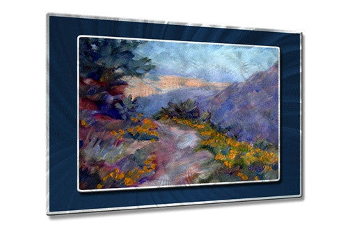 Catalina Overlook - Metal Wall Art Sculpture - Sandy Farley
