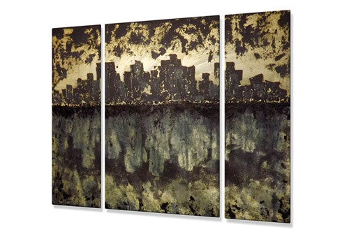 Civilization - Metal Wall Art Decor - Roger Silva