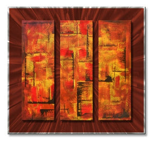 Tapestry - Painted Steel Metal Welded Wall Art Decor - Roger Silva