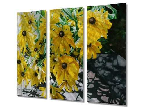 August Shadows - Metal Wall Art Decor - M J Studios