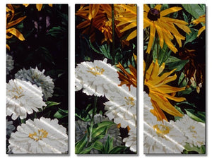 Black-eyed Susans - Metal Wall Art Decor - M J Studios