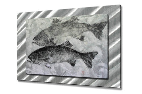 Striper - Metal Wall Art Decor - Jack Schwartz