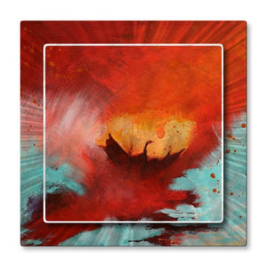 Flight - Metal Wall Art Decor - Olivia O'Keeffe