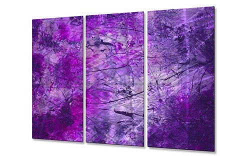 Festival in Fuchsia - Metal Wall Art Decor - Michele Morata