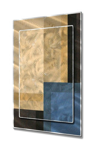 Combination - Contemporary Metal Wall Hanging - Francine Bradette