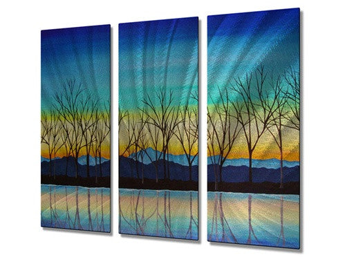Crisp Morning - Metal Wall Art Decor - Peggy Davis