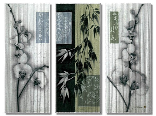 Asian Orchid - Metal Wall Art Decor - Tina Chaden