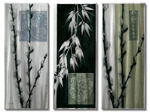 Asian Willow - Metal Wall Art Decor - Tina Chaden