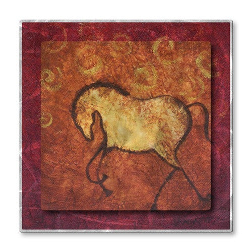 Spiral Horse 2 - Metal Wall Art Decor - Diana Lancaster