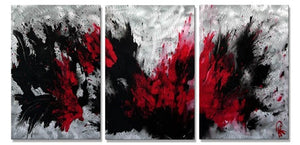 Explosion of Passion - Metal Wall Art Decor - Marina Rehrmann