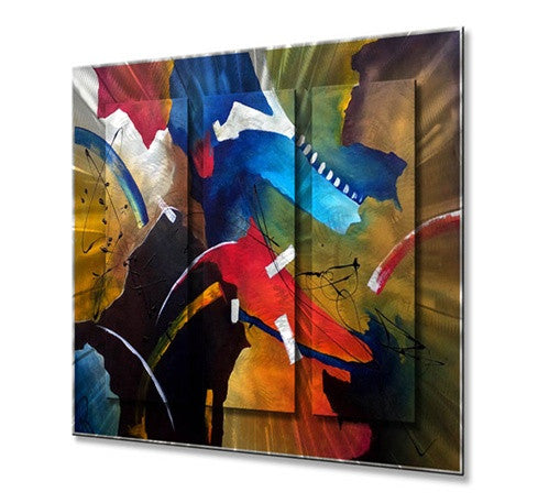 Come Closer - Metal Wall Art Decor - Marina Rehrmann