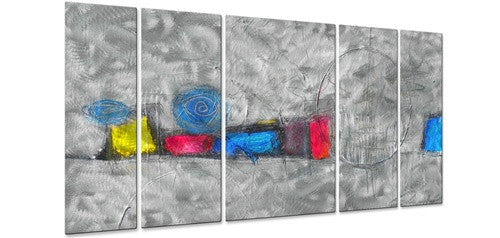 Urban Snowstorm - Metal Wall Art Decor - Judy Jacobs