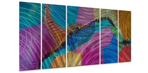 Calypso - Metal Wall Art Decor - Judy Jacobs