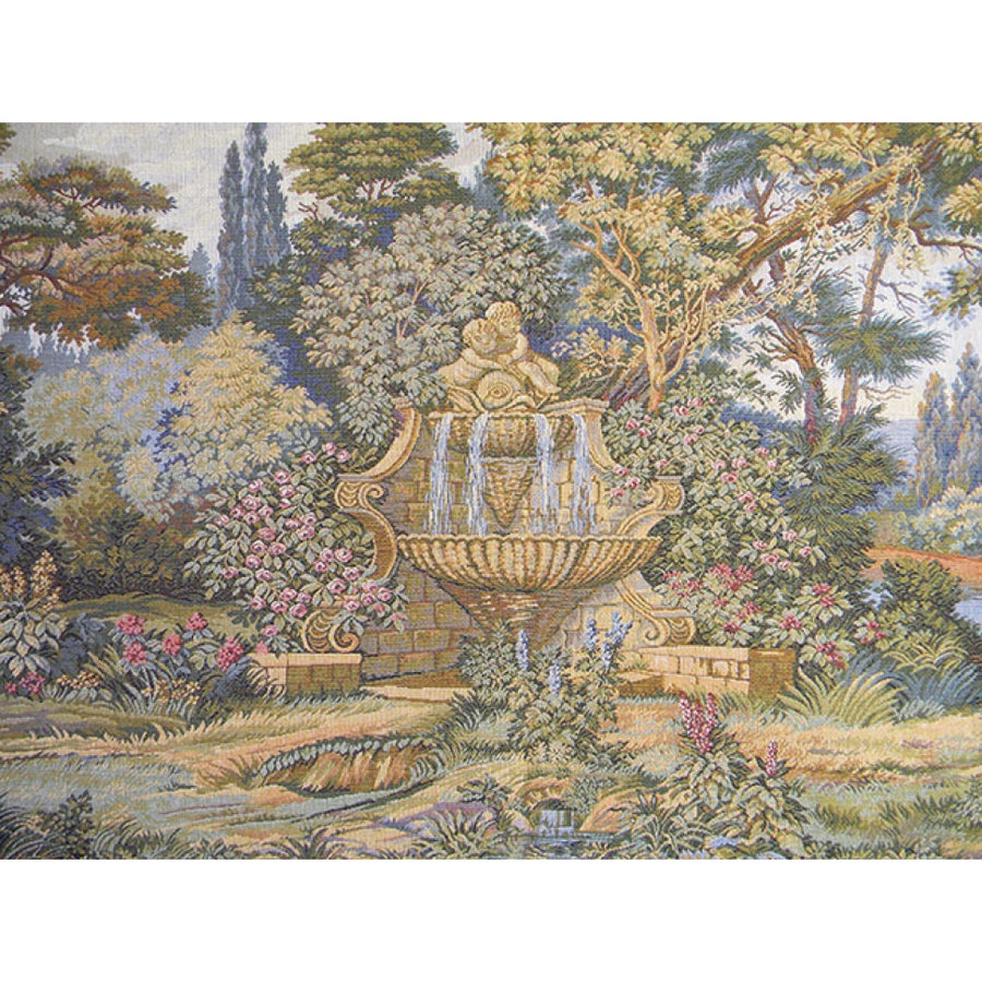 Fountain Italian Wall Hanging Tapestry