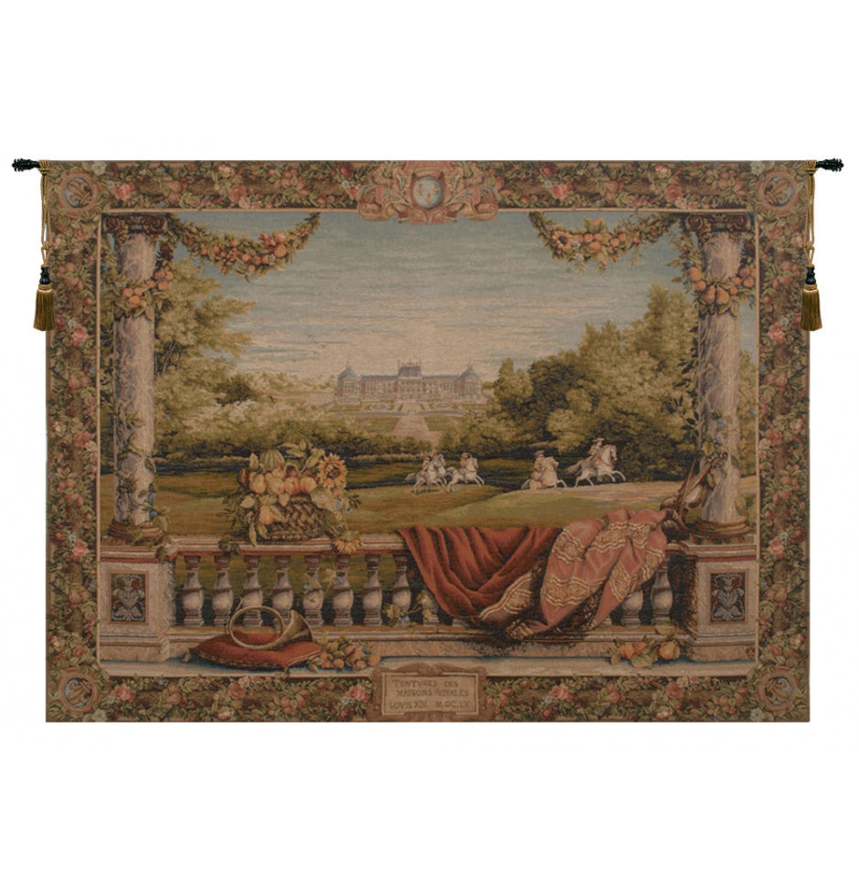 Terrasse Au Chateau I French Wall Tapestry