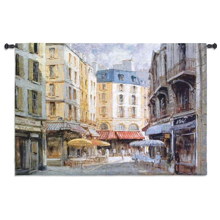 Les Parasoles Hand Finished European Style Jacquard Woven Wall Tapestry