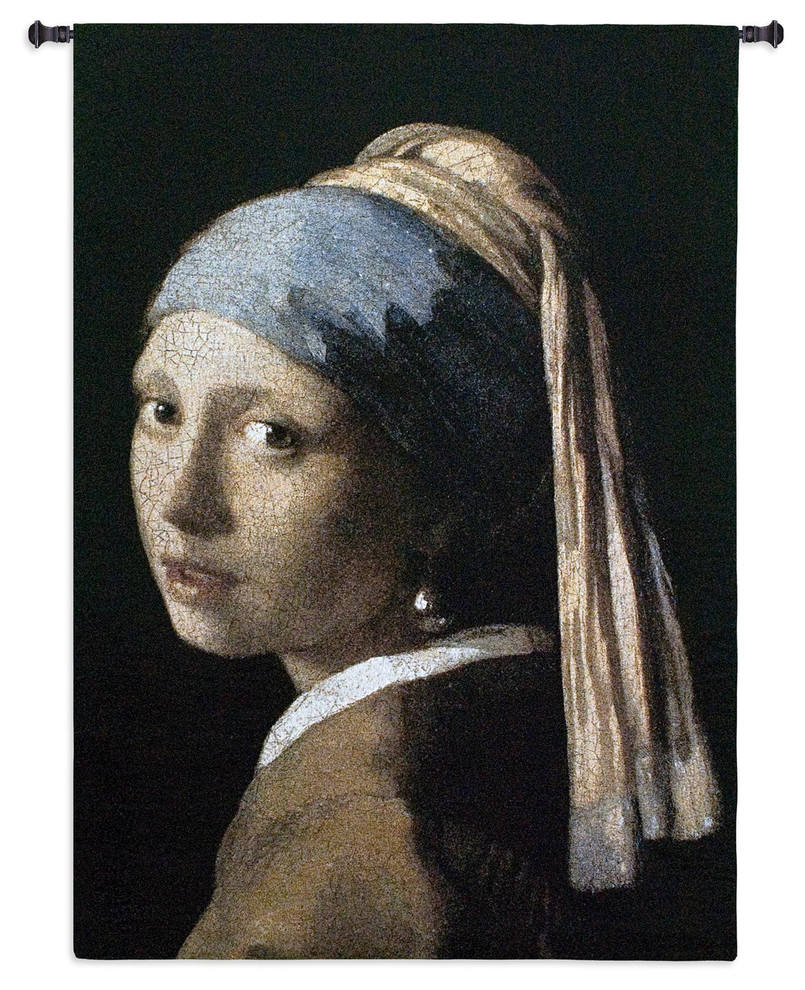 Girl with a Pearl Earring Tapestries