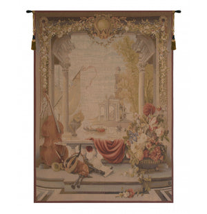 Cream Le Port De Toscane French Decor Wall Tapestry