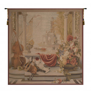 Le Port De Toscane I French Wall Tapestry