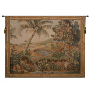 L'Oasis I French Wall Tapestry