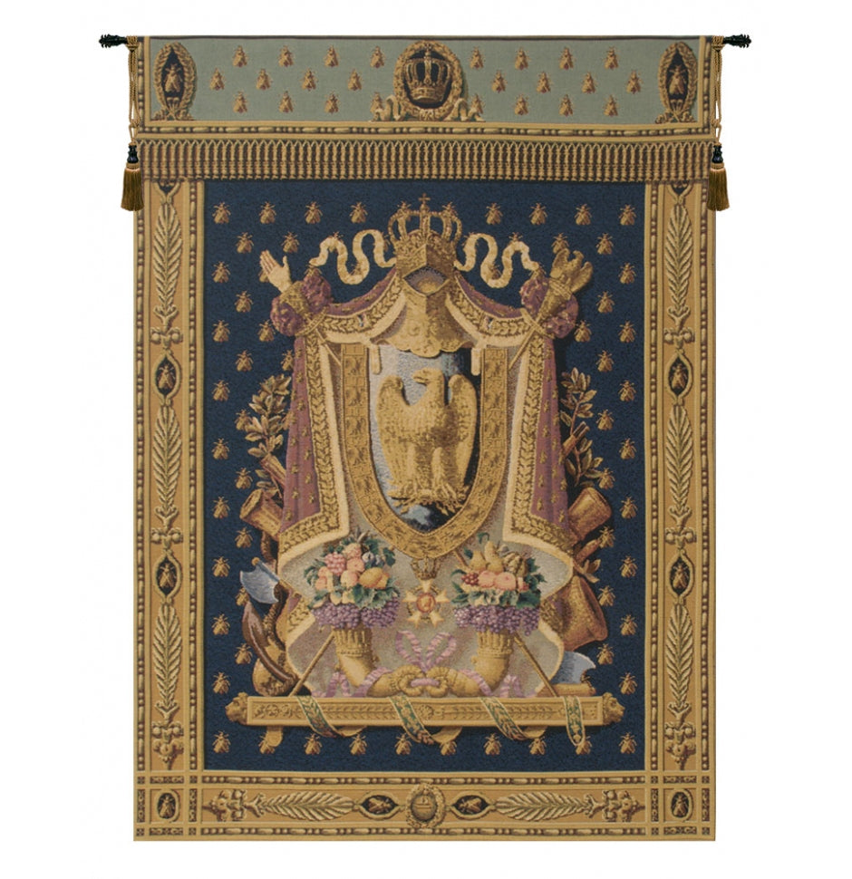 Napolean Dark Blue European Wall Hanging Tapestry