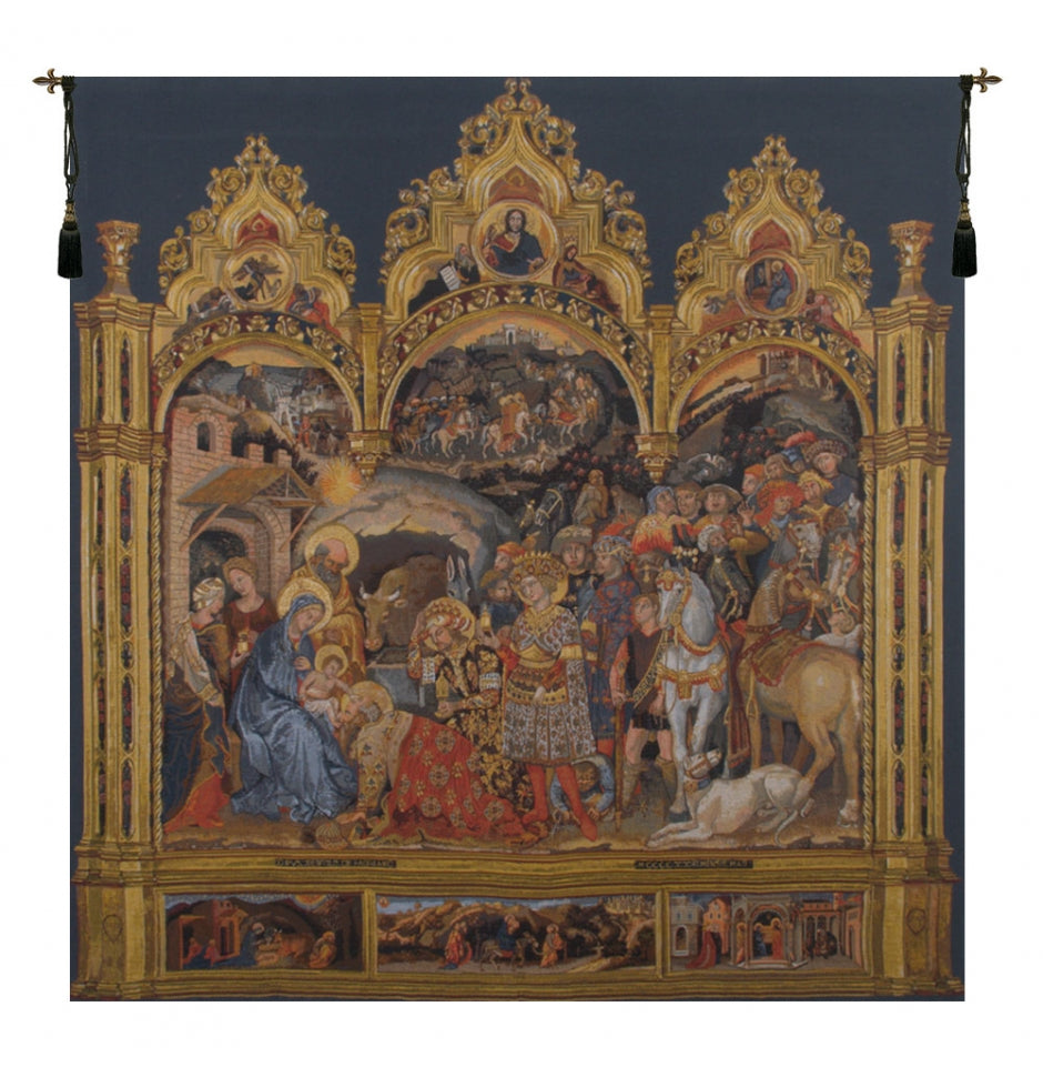 Adorazione European Wall Hanging Tapestry