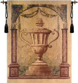 Amphora Belgian Urn Cream Wall Decor