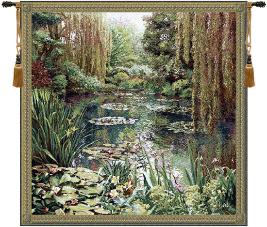 Monet Vertical Large European Hanging Wall Tapestry