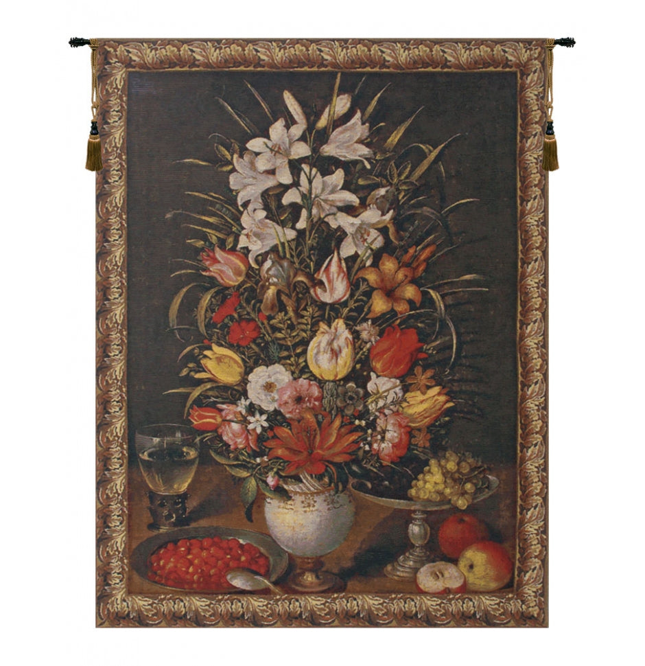 Antique Breughel Medium European Wall Hanging Tapestry