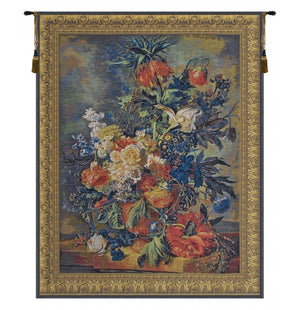 Bouquet Dore European Hanging Wall Tapestry