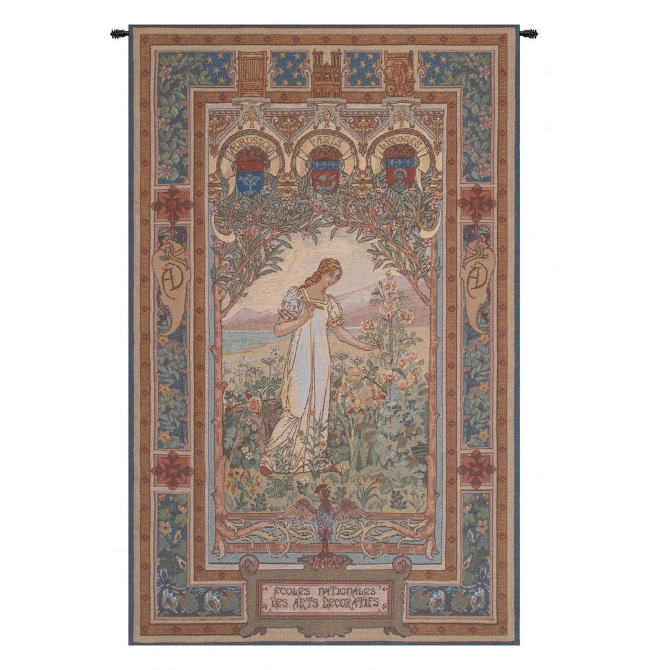 Cream Aurore European Wall Hanging Tapestry