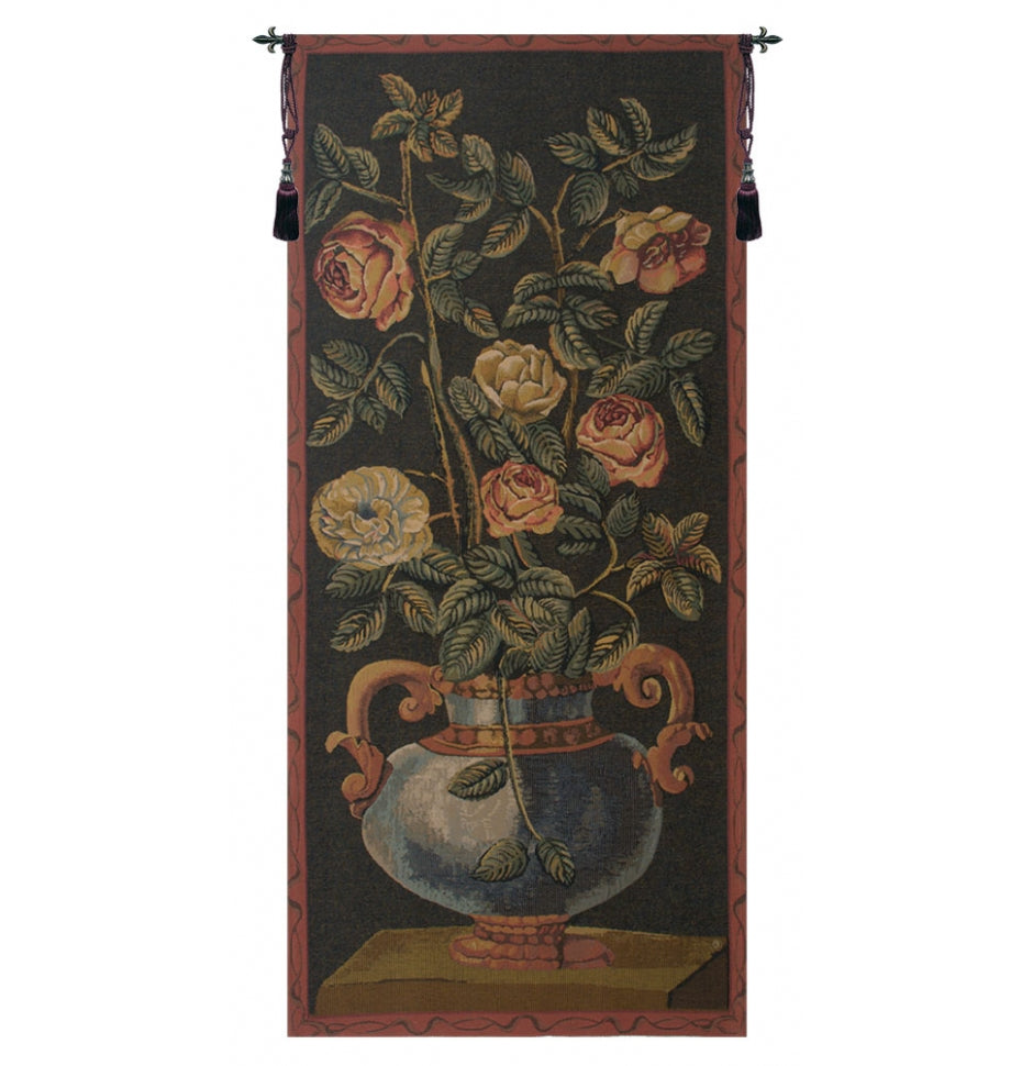 Roses European Wall Hanging Tapestry