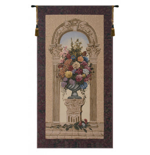 Floral Arch European Hanging Wall Tapestry