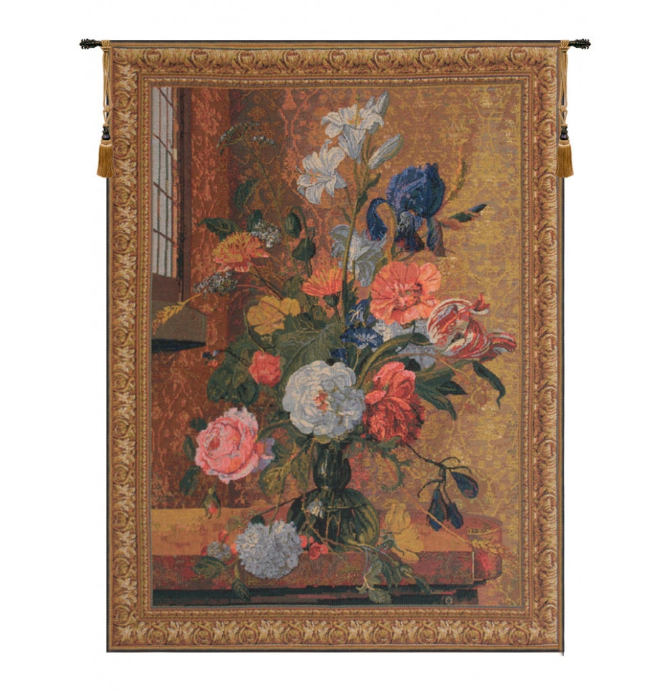 Summer Flowers European Hanging Wall Tapestry