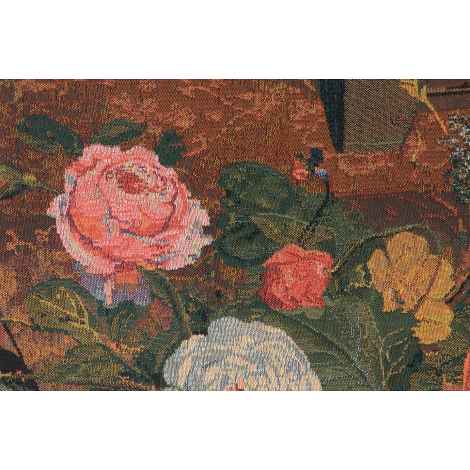 Floral Tapestry Hang on Wall